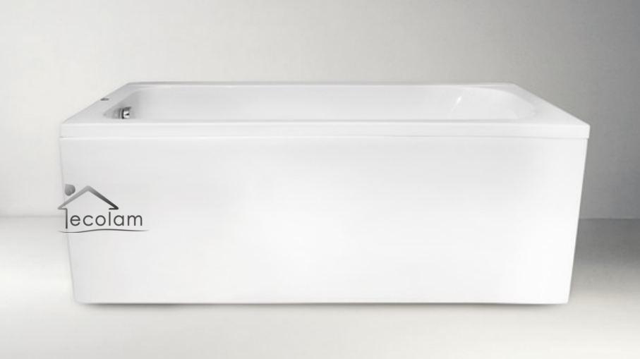 badewanne rechteck badewannenabtrennung duschwand 150 x 70. Black Bedroom Furniture Sets. Home Design Ideas