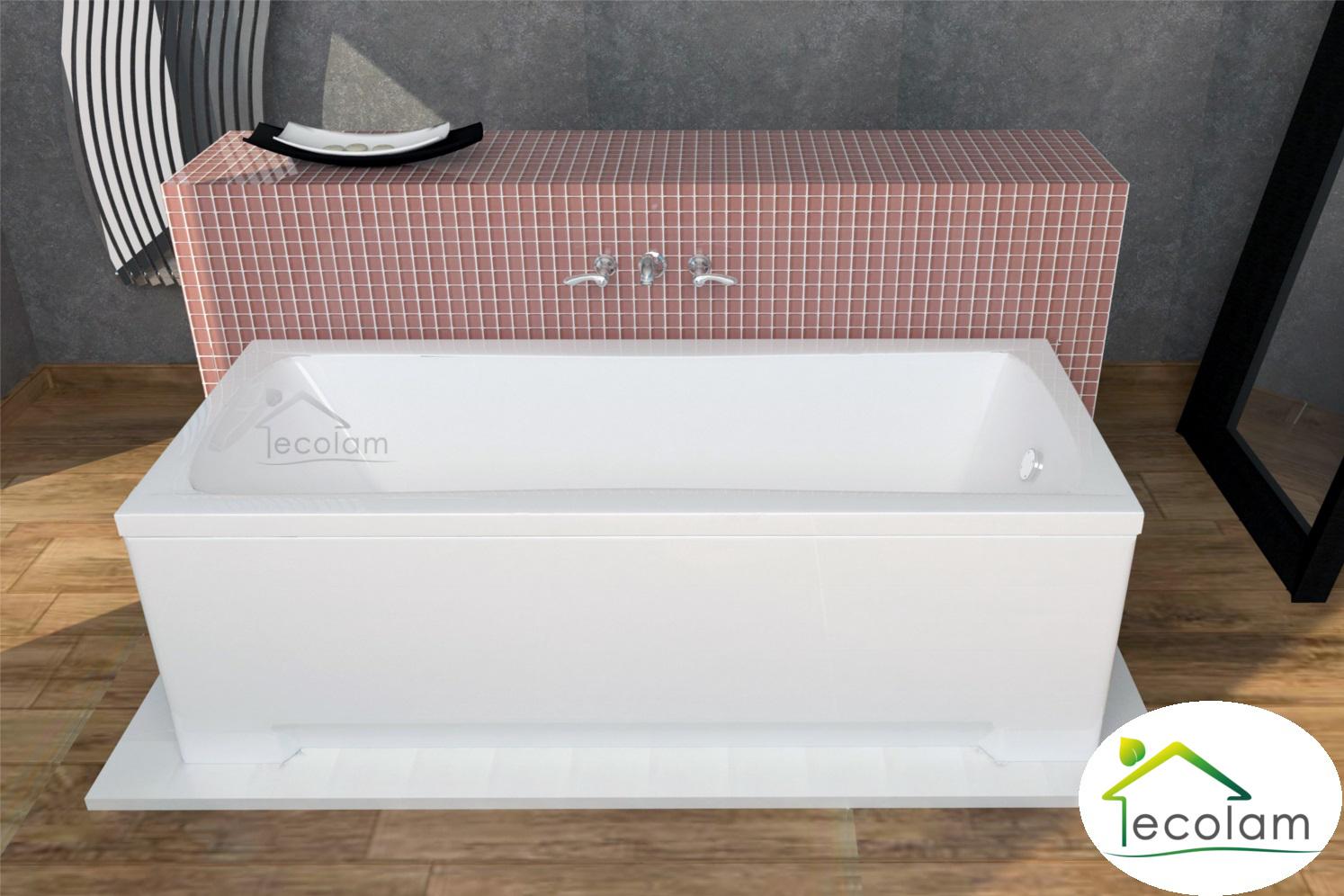 badewanne wanne rechteck 160 x 70 cm ohne mit sch rze ab. Black Bedroom Furniture Sets. Home Design Ideas