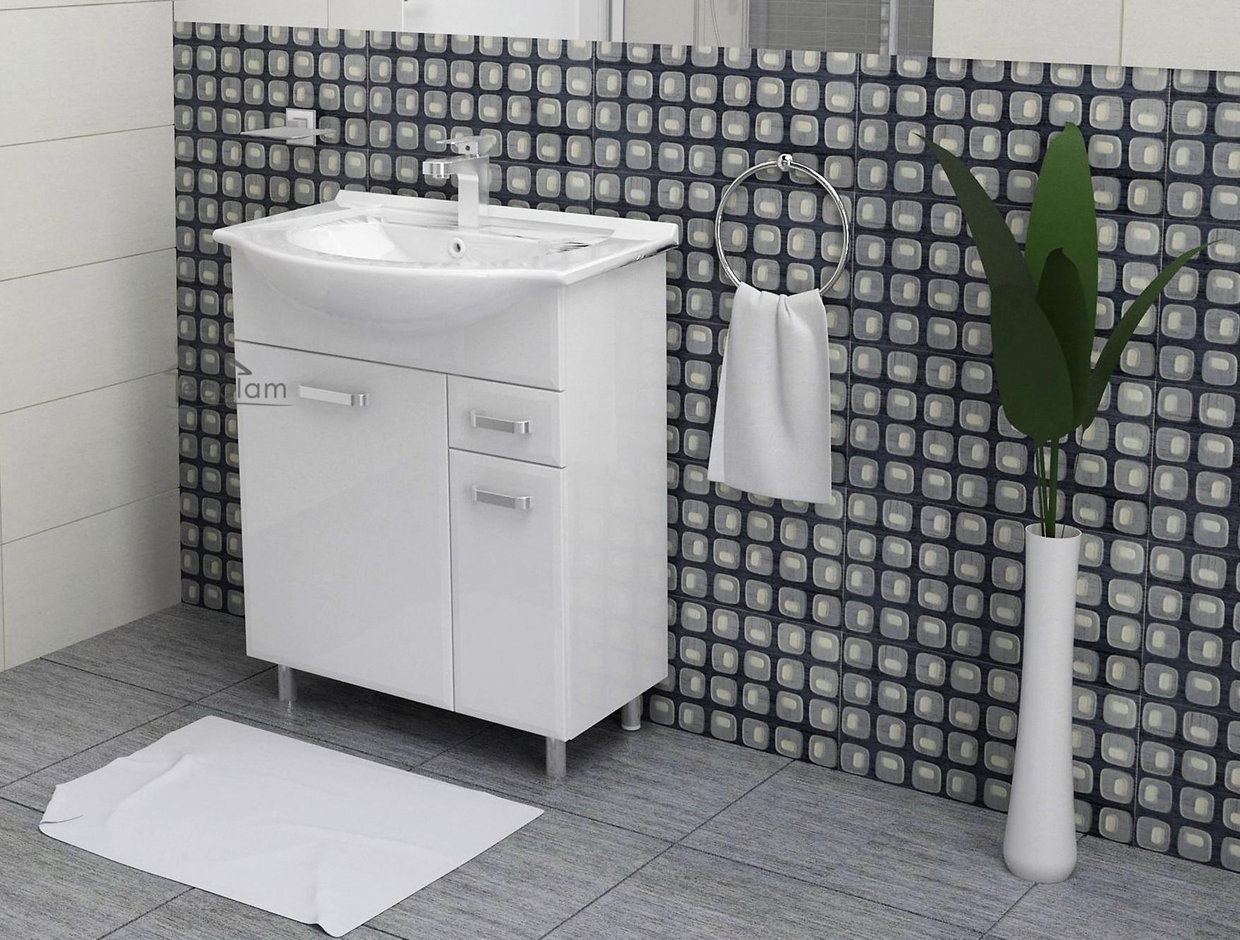 badm bel bad waschbecken 55 65 cm waschtisch. Black Bedroom Furniture Sets. Home Design Ideas